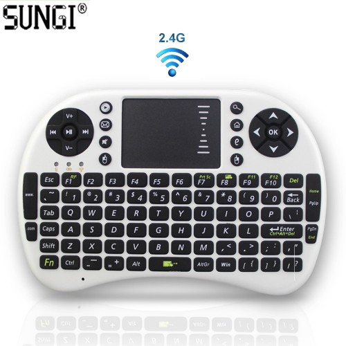 I8 Version 2.4GHz Wireless Keyboard Air Mouse Teclado Touchpad Handheld for Android TV BOX PC