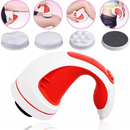 Professional Infrared Electric Body Slimming Massager Anti Cellulite Flat Roller Machine Slim Beauty Tool