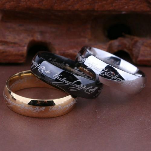 Classic Titanium Ring Men