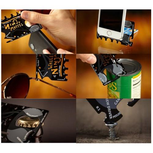 Ninja 18 in 1 Multi-Purpose Tool Pocket Hand Tools Camping Tool