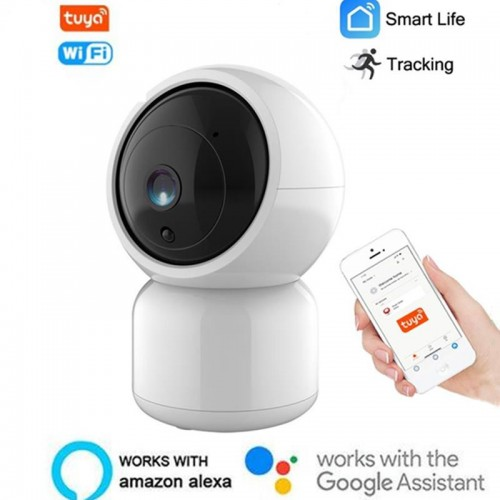 1080P HD IP Camera Smart WiFi Camera Indoor Security Surveillance CCTV Camera Support Alexa Google Monitoring