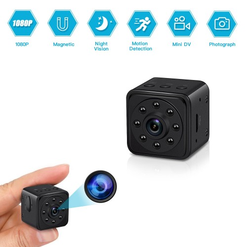 1080P Mini Body Camera Without WiFi Smallest Portable Security Nanny Cam Night Vision