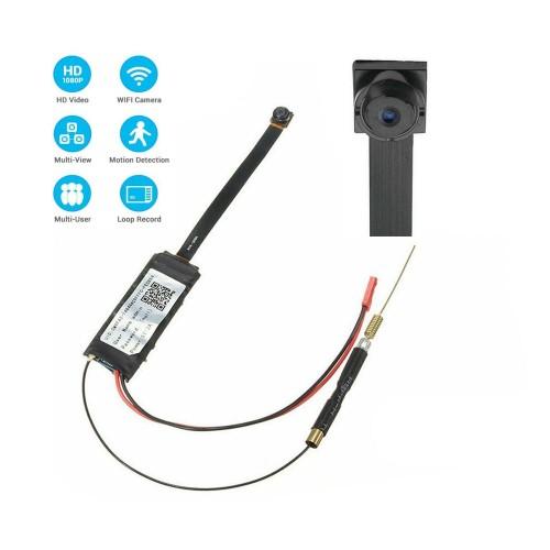 S06 Mini Wi-Fi Camera Remote Control 2MP P2P Video Recorder Wireless IP Camera Support TF card