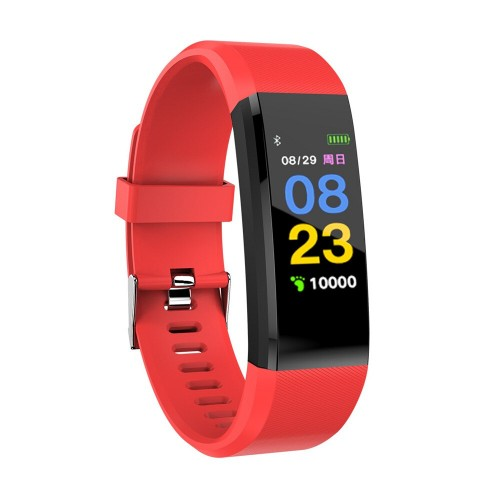 115HR PLUS Smart Bracelet Sport Heart Rate Fitness Tracker Wristband For IOS Android