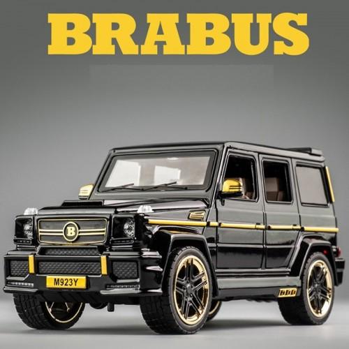 1:24 Benz G65 Alloy Model Car For Kids Boys Diecast Off-road Miniature Car Model