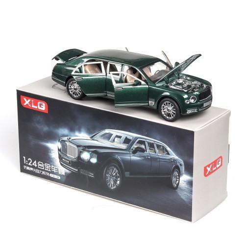 1/24 Diecast Luxury M929F-6 (Bentley) Car Toy Model Openable Doors 21.5cm