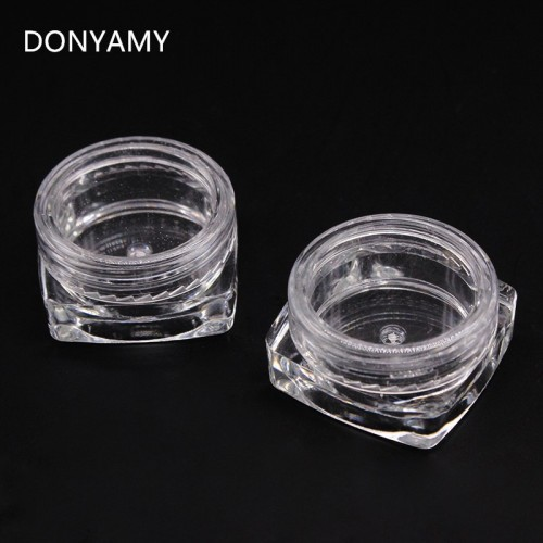 12Pcs Round Small Storage Plastic Bottle for Jewelry Beads, Cosmetics, Accessories