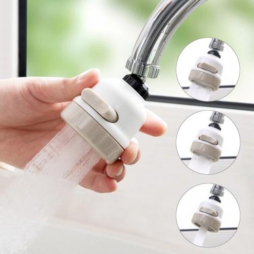 Removable Kitchen Tap Head Universal 360 Degree Rotatable Faucet Water Sprayer Anti-Splash