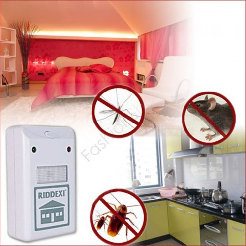 Ultrasonic Electronic Pest Control Rodent Mouse Repeller Anti Mosquito Home Gadget