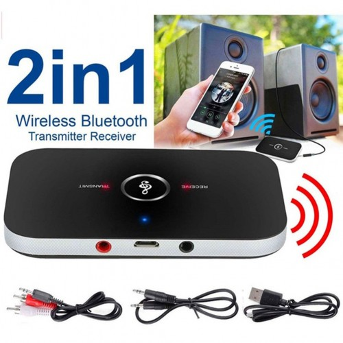 2 In 1 Bluetooth Adapter 3.5 Mm/USB Ports Stereo Bluetooth Transmitter And Receiver For PC TV Audio Devices