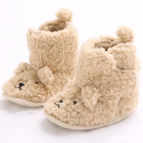 New Born Baby Boots Shoes Flannel Cotton