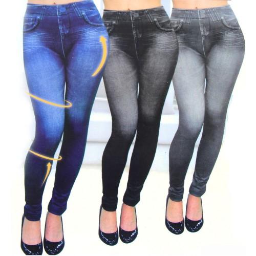Women Slim N Lift  Jeans Look Slim Leggings Shaping Pants Suitable For All Women