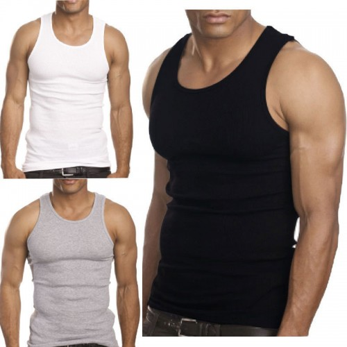 Premium Cotton Ribbed Tank Top