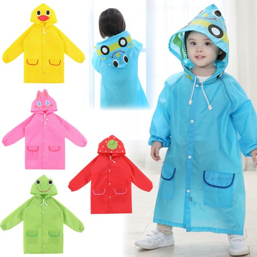 Poncho Waterproof  Kids Rain Coat