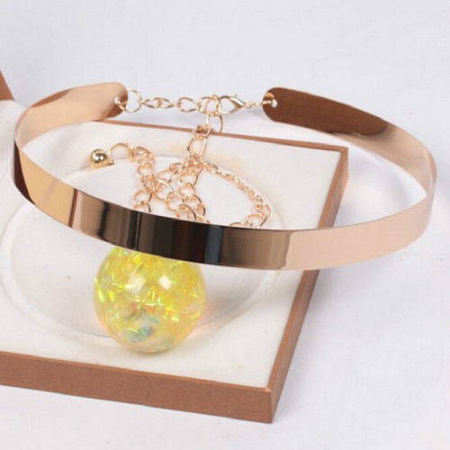 Hot New Fashion Women Belt Plate Waistband  Wide Ladies Gold New Metal Vogue Waist Band Chains Mirror