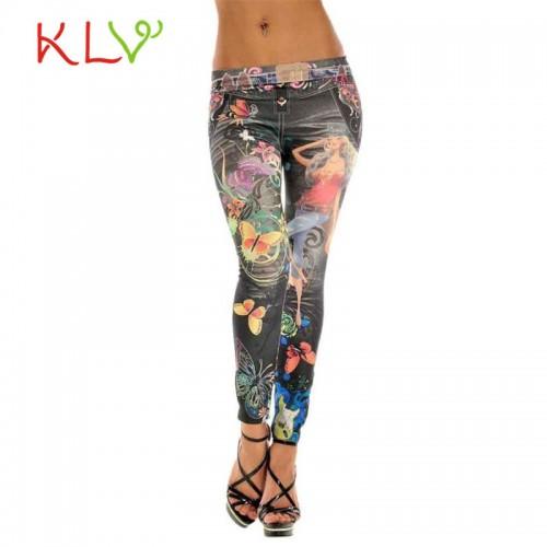 Latest Women Jeans Style Fashion Leggings