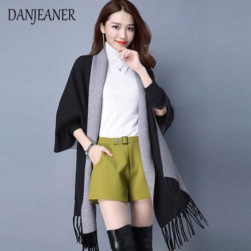 Autumn New Women's Elegant Socialite Cashmere Tassel Cardigan Sweaters