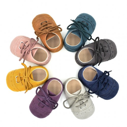 Hot Baby Shoes Nubuck Leather Soft Baby Shoes Moccasins Footwear for Toddlers
