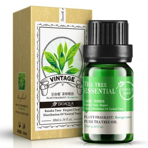 Huile Essential Bioaqua Tree Tea Oil For Acne Scar Removal Cystic Treatment Blackhead Pore Strips For Skin Care