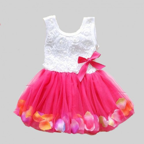 Summer Baby Girl Dress Kids Baby Girls Clothing Dresses Beautiful Flower Dress Sleeveless Tutu Princess