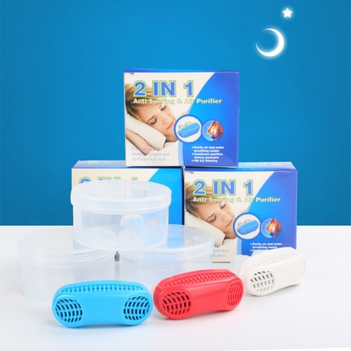 Anti Stop Snoring Aids Snore Magnetic Silicone Snore Stopper Sleep Device
