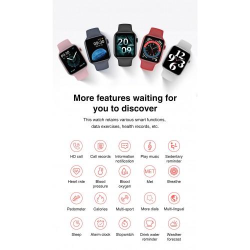 HW22 IWO 13 PRO Smart Watch Women Men Series 6 Heart Rate Smartwatch