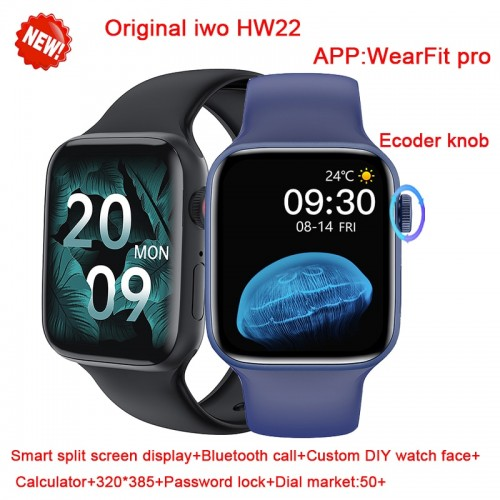 HW22 IWO 13 PRO Smart Watch Women Men Series 6 Heart Rate Smartwatch