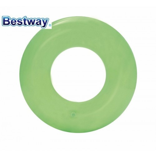 3 Pieces  See-through Tire Tube Clear Inflatable Floating Swimming Ring