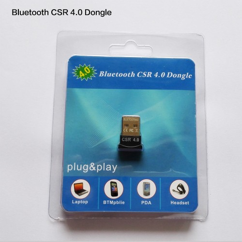 30pcs/lot : Mini USB 2.0 Bluetooth CSR V4.0 Dongle Dual Mode Wireless Bluetooth Adapter Transfer for XP,Vista,Windows 7/8/10