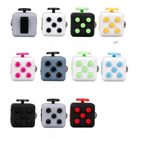 3.3cm Mini Fidget Cube Squeeze Fun Stress Reliever Antistress Stress Cube