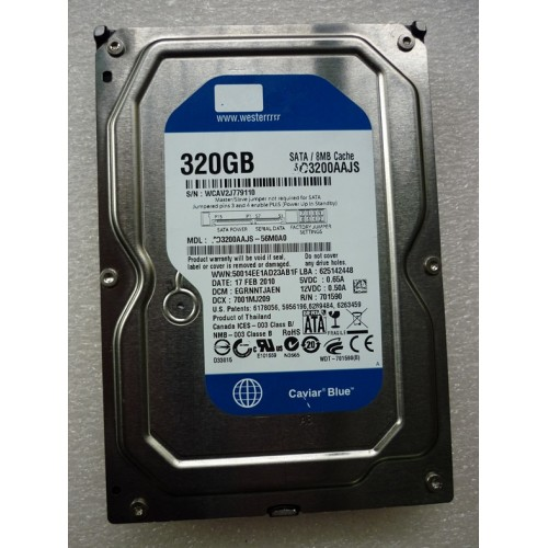 Sata 320Gb Internal Hard Disk For Desktop