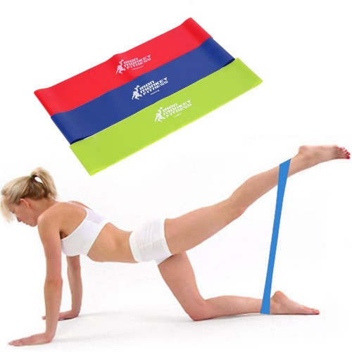 3pcs /set Resistance Bands Workout Fitness Gym Yoga Sport Equipment Strength Training