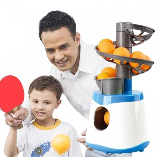 Mini Table Tennis Robot Parent-child Student Pitching Serve Machine Trainer