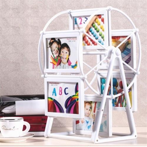 Wedding Picture Frames Ferris Wheel Windmill Shape 12pcs Photo Home Decor