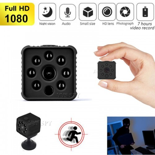 HD IR Mini Camera Action Outdoor Security Support Hidden IP HD Video Camcorder