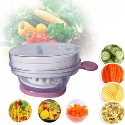 8 pcs/set Vegetable Fruit Slicer Grater Cutter Peeler Multifunctional Drain Basket Kitchen Tool