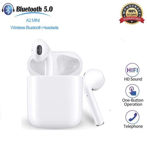 A2mini True Wireless Bluetooth 5.0 Headset 3D Stereo in-Ear Earbuds