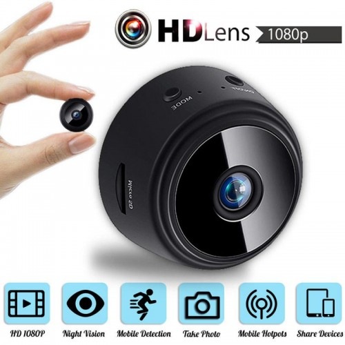 A9 1080P Mini Camera WIFI Smart Wireless Camcorder Home Security P2P Night Vision Motion Detection Cam