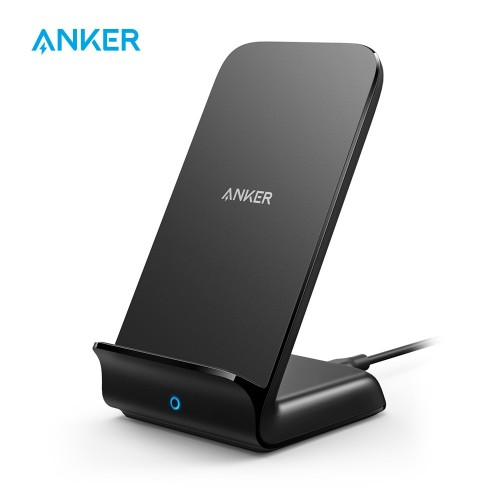 Anker Power Wave Fast Wireless Charger Stand For All Qi-Enabled Phones