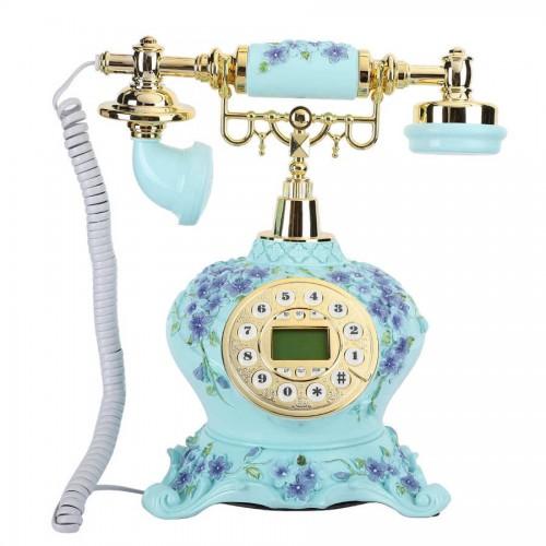 Antique Telephone Corded Landline European Style Vintage Retro Home Office Landline