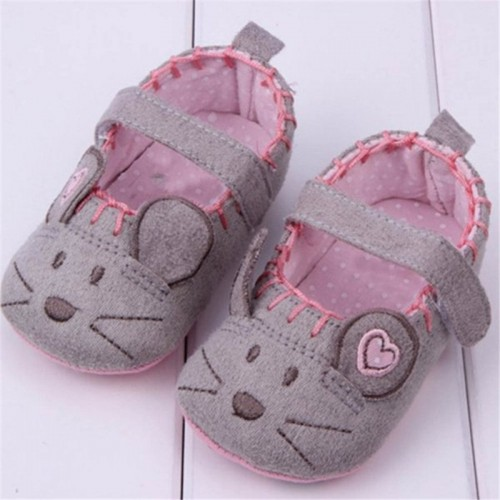 Cute Soft Little Mouse Baby Shoes For Girls And Boys
