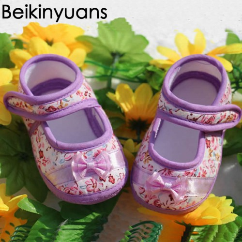 Baby First Walkers Anti-skid Soft Bottom Cotton Step Shoes