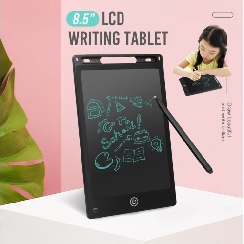 8.5inch Electronic LCD Writing Tablet Home Drawing Memo Pad For Kids