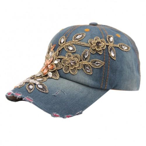 Summer Style Lady Jeans Hat Denim