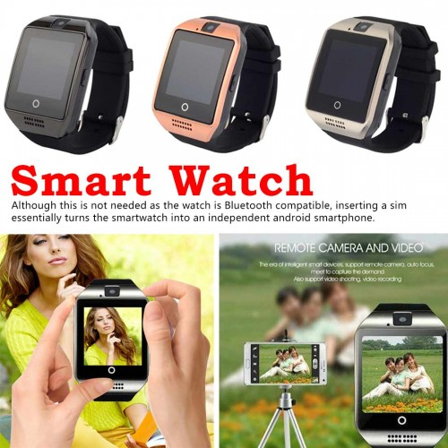 Smart Watch Touchscreen with Camera Bluetooth Watch Phone