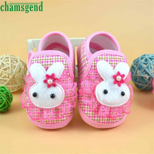 Cute Newborn lovely Baby Soft Sole Crib Toddler Shoes