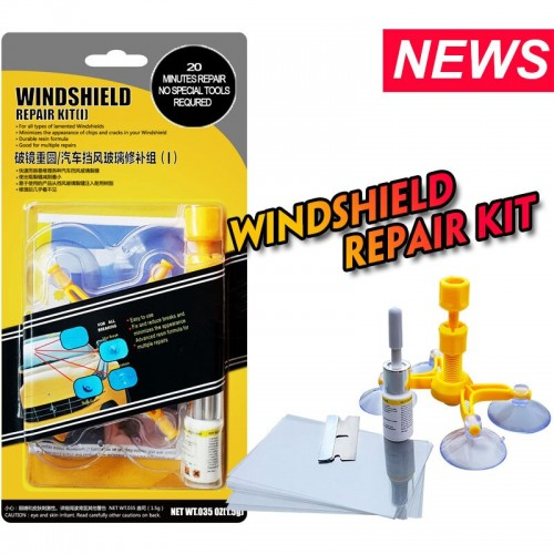 DIY Car Windshield Glass Scratch Kit Repair Tool Windscreen Crack Restore
