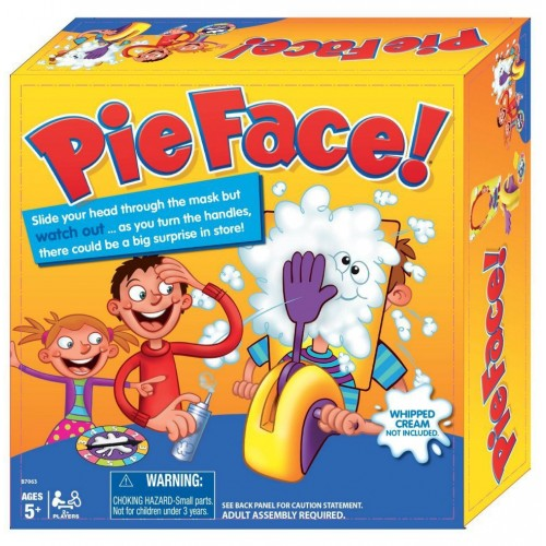 Double Pie Face Showdown Board Games Interesting Cake In The Face Family Game