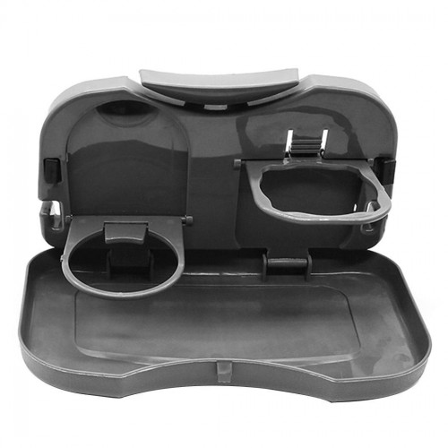 Car Seat Back Dining Table Drink Place Cup Table Storage Food Cup Tray Holder Auto Foldable Rack
