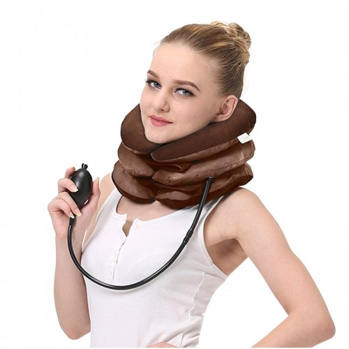 Inflatable Neck Cervical Vertebra Traction Soft Brace Support Device Neck Pain Neck Tractor